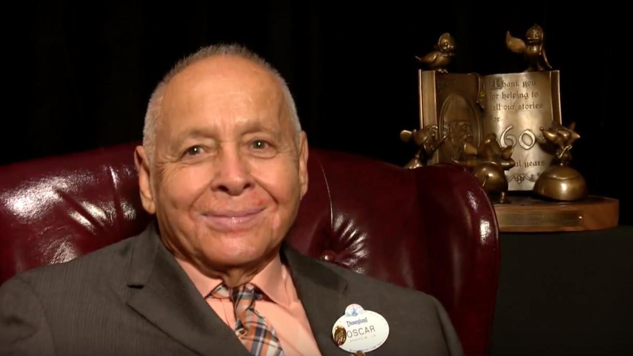 Oscar Martinez, Longest-Tenured Cast Member at Disneyland Resort, Celebrates 60th Service Anniversary