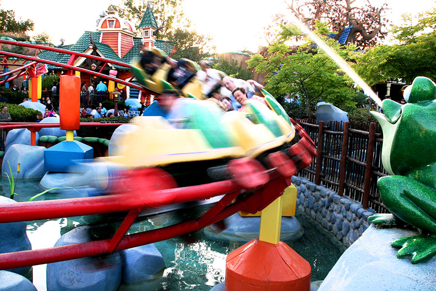 A Neighborhood with Character: Gadget's Go Coaster at Disneyland Park