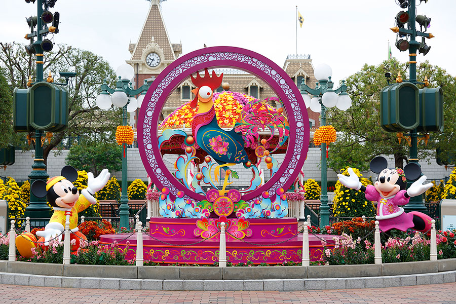 Chinese New Year Brings Good Fortune to Disney Parks