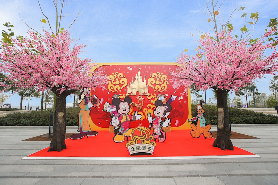 Shanghai Disney Resort's First Chinese New Year Celebration