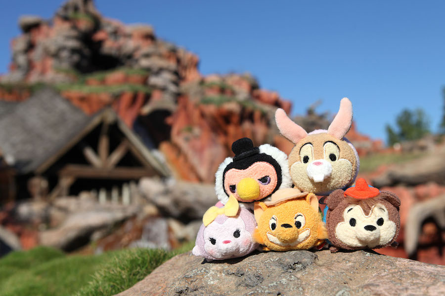 New Disney Tsum Tsum Make a Splash at Disney Parks