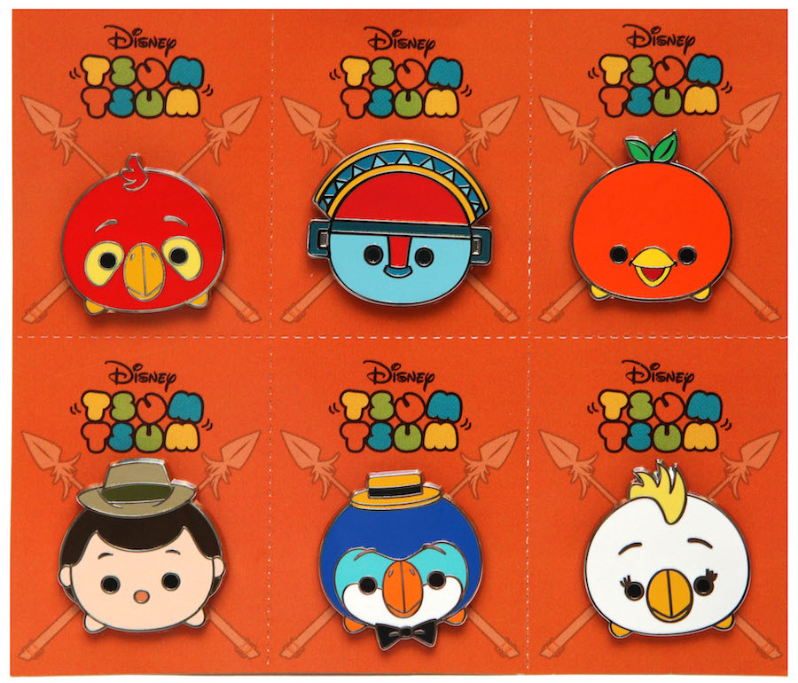 New Disney Tsum Tsum Pin Set Coming to Disney Parks in Late February 2017