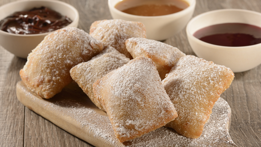 Beignets from Sassagoula Floatworks and Food Factory at Disney's Port Orleans Resort – French Quarter