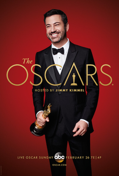 Jimmy Kimmel hosts The Oscars® LIVE Oscar Sunday, February 26 at 7e|4p on ABC