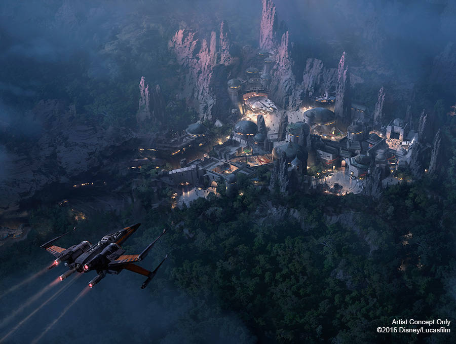 star wars themed lands at disney parks set to open in 2019