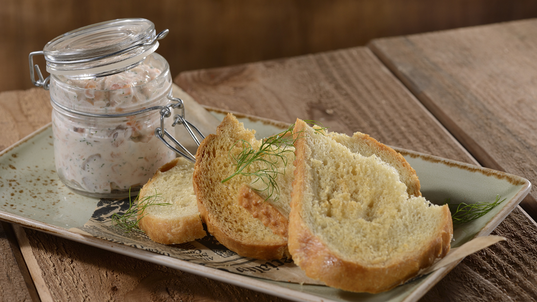 Salmon Rillette from Geyser Point Bar & Grill Opens at Disney's Wilderness Lodge