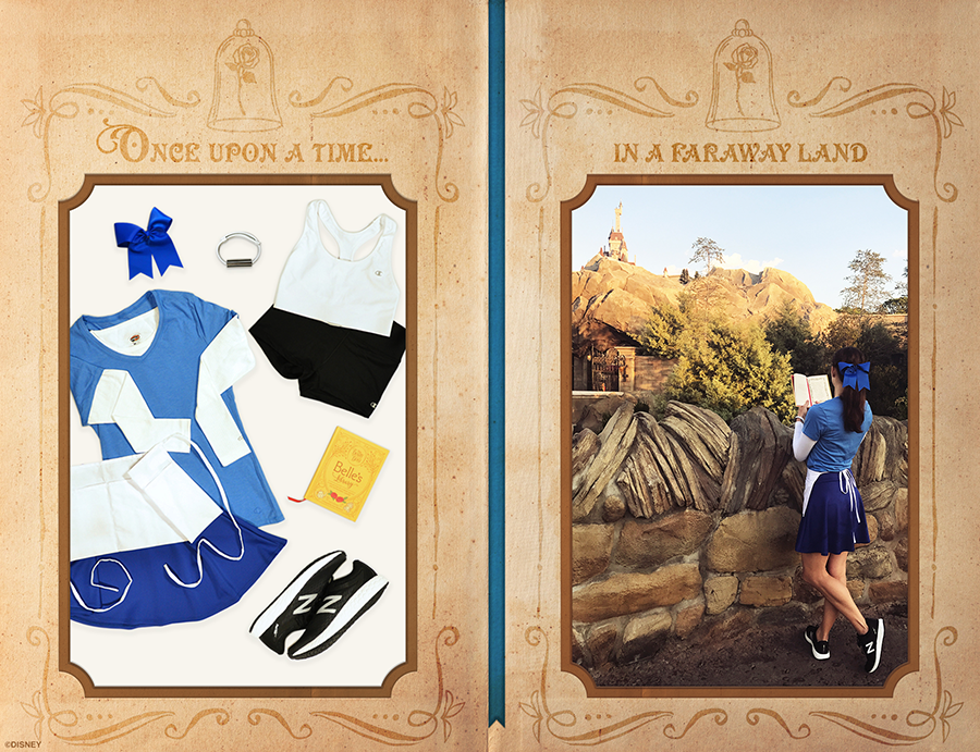 Disney's 'Beauty and the Beast' Inspired Style for runDisney Princess Half Marathon Weekend