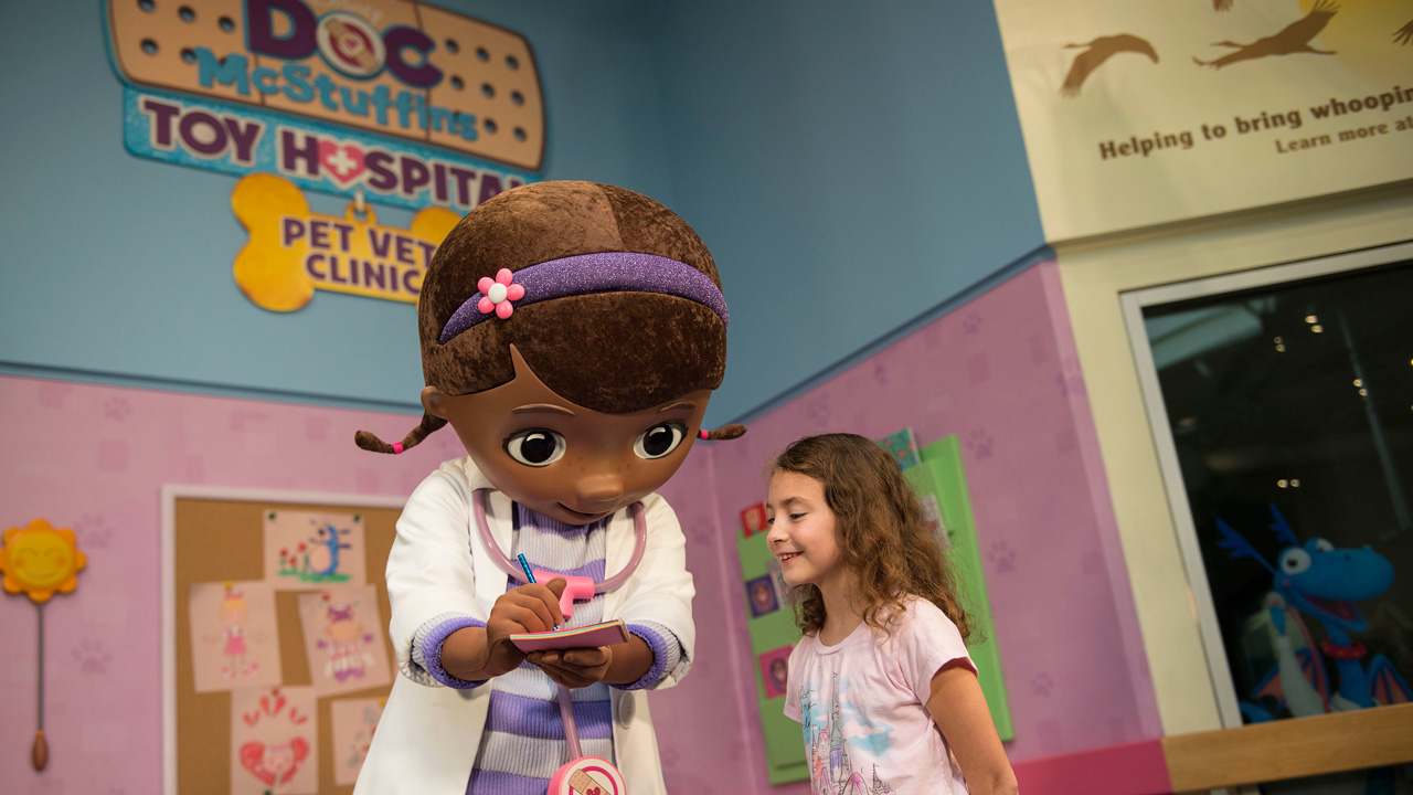 Walt Disney World Character: Doc McStuffins Makes Her Debut at Disney's Animal Kingdom Park