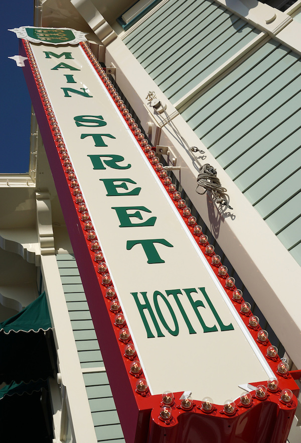 Main Street Hotel –– Inspired by Marceline, Missouri, Main Street, U.S.A. is an idyllic turn of the century street with shops, restaurants, and charming details to bring the street to life