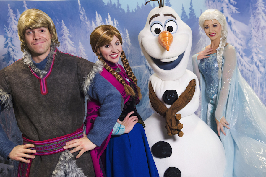 Memorable Moments with Anna, Elsa, Olaf and Kristoff