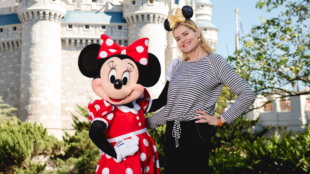 Beloved Actress Geena Davis Visits Walt Disney World Resort