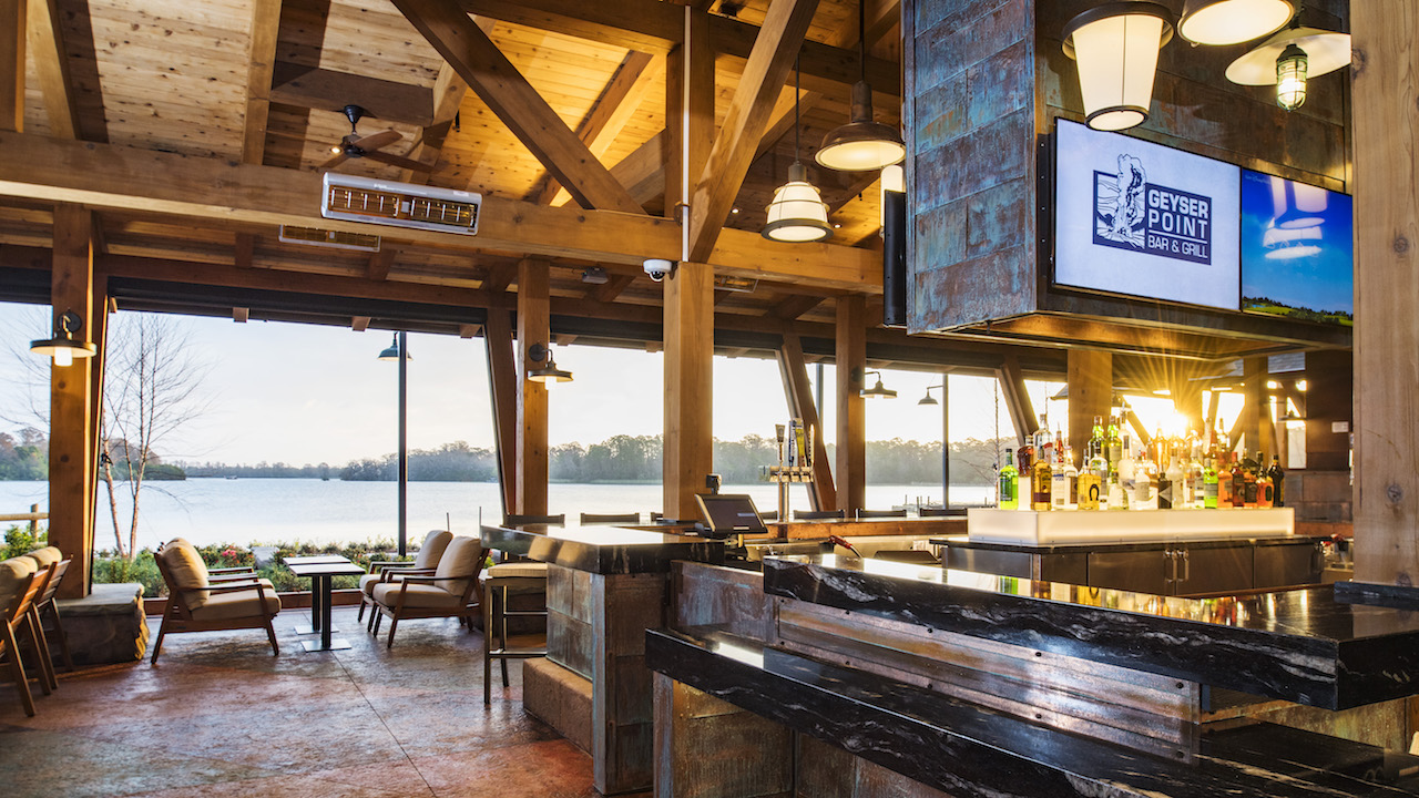 Geyser Point Bar & Grill Opens at Disney's Wilderness Lodge at Walt Disney World Resort