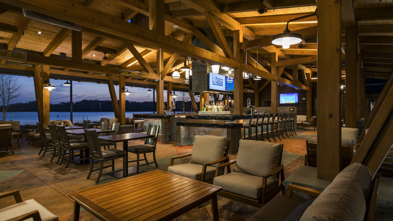 Geyser Point Bar Amp Grill Opens At Disney S Wilderness