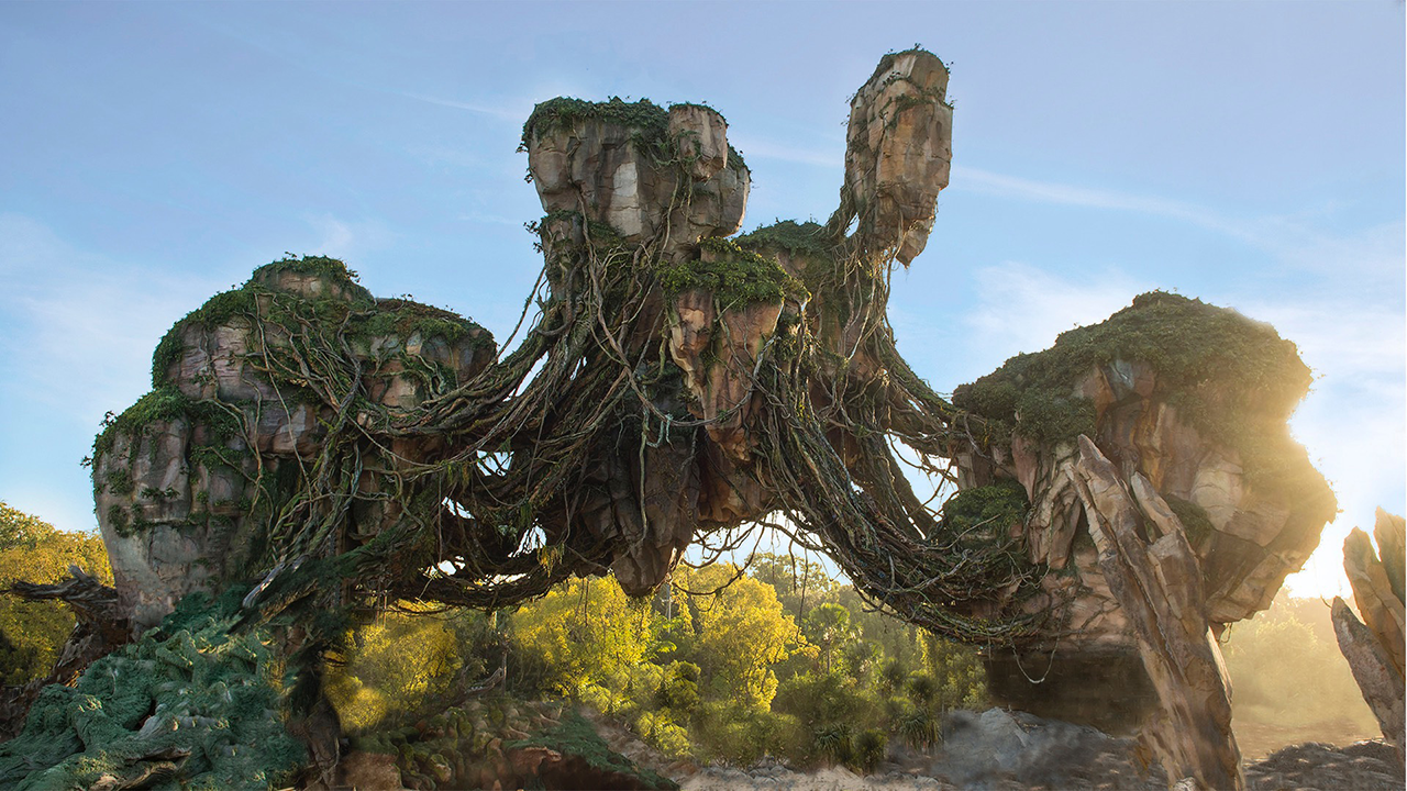 Hasil gambar untuk Walt Disney World's Animal Kingdom theme park di Florida Pandora-The World of Avatar