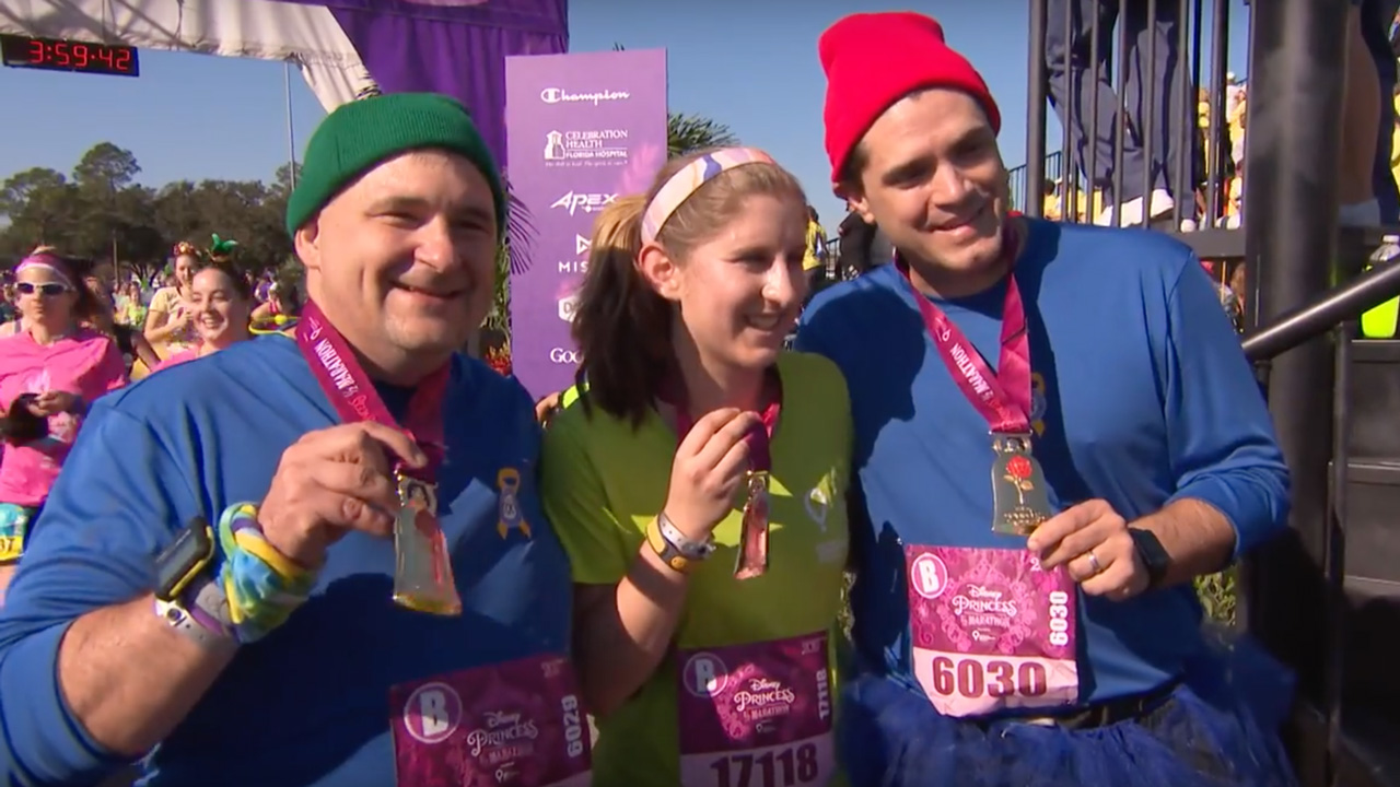 19-Year-Old Cancer Survivor with Internal Leg Prosthetic Conquers the Disney Princess Half Marathon