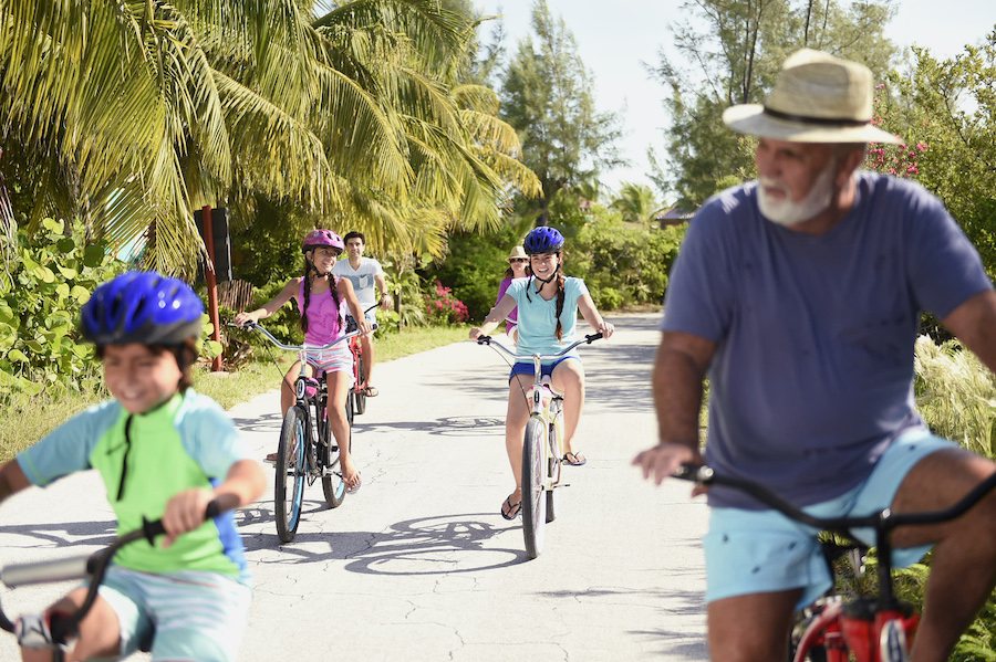 Families on Castaway Cay