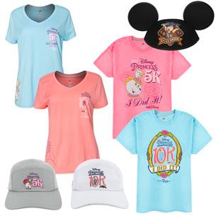 Commemorative Merchandise Celebrates Disney Princess Half Marathon Weekend 2017 at Walt Disney World