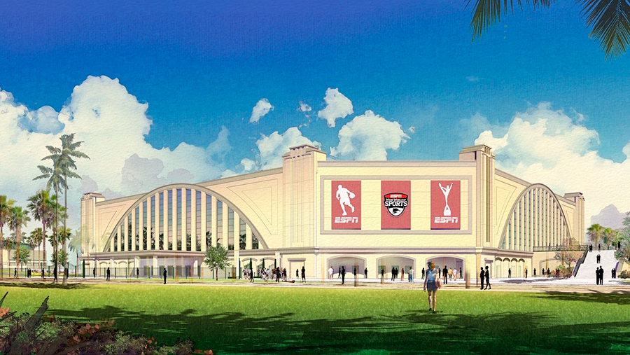 ESPN Wide World of Sports Complex new indoor sports venue