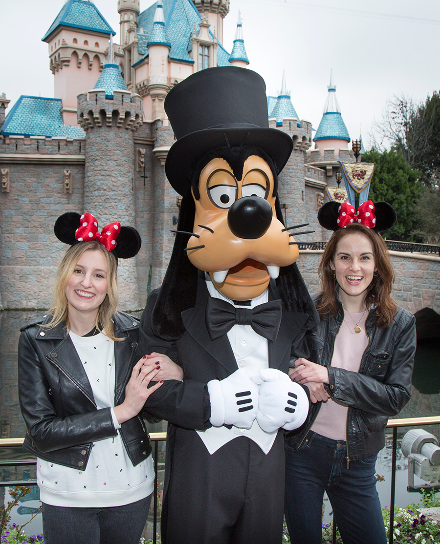 'Downton Abbey' Stars Reunite at the Disneyland Resort