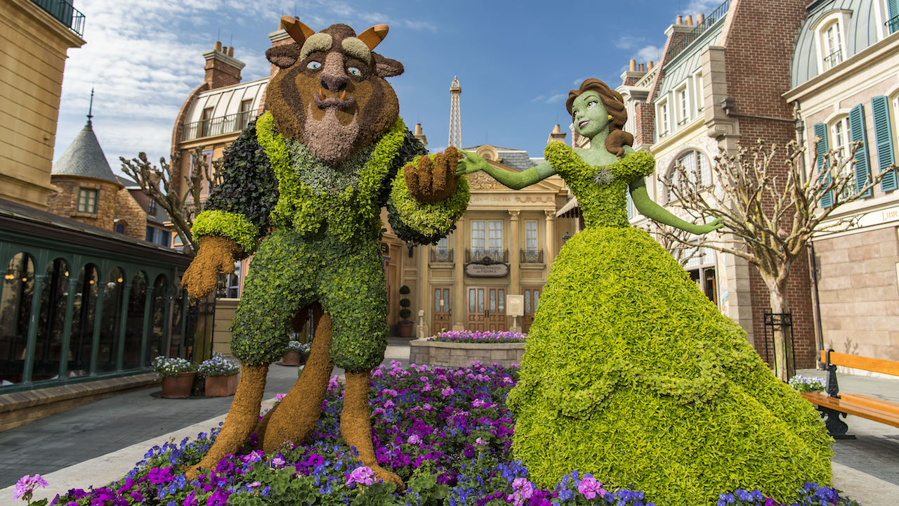 This Week In Disney Parks Photos Epcot International Flower Garden Festival Returns Disney