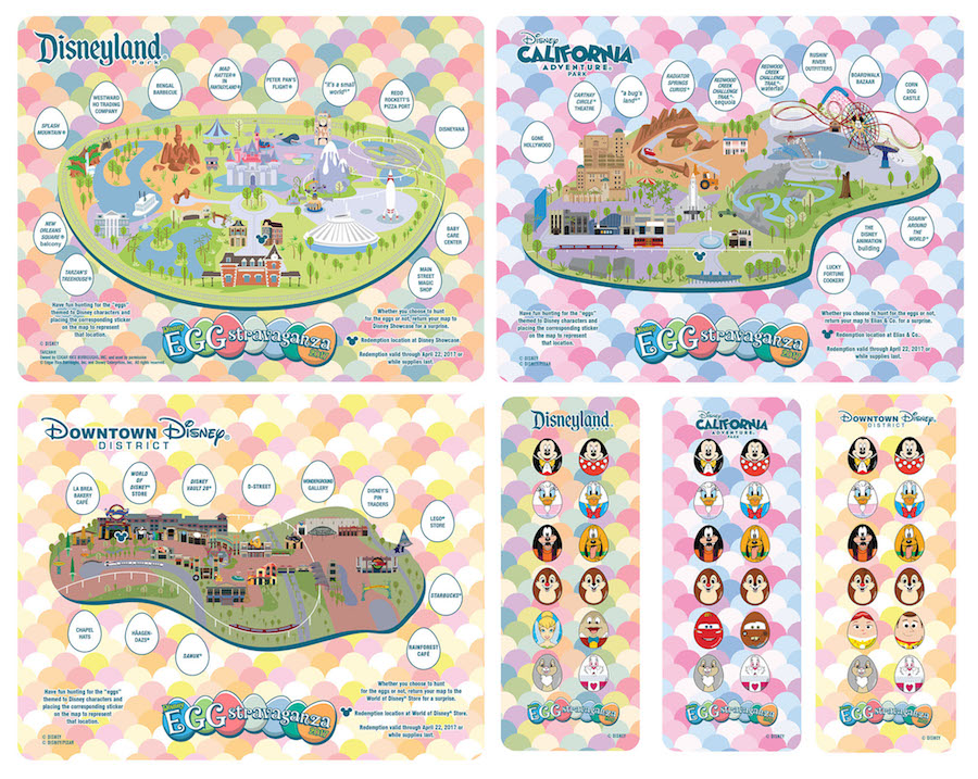 Egg-stravaganza Details Hatched as Fun Scavenger Hunt Returns to Disneyland Resort in April