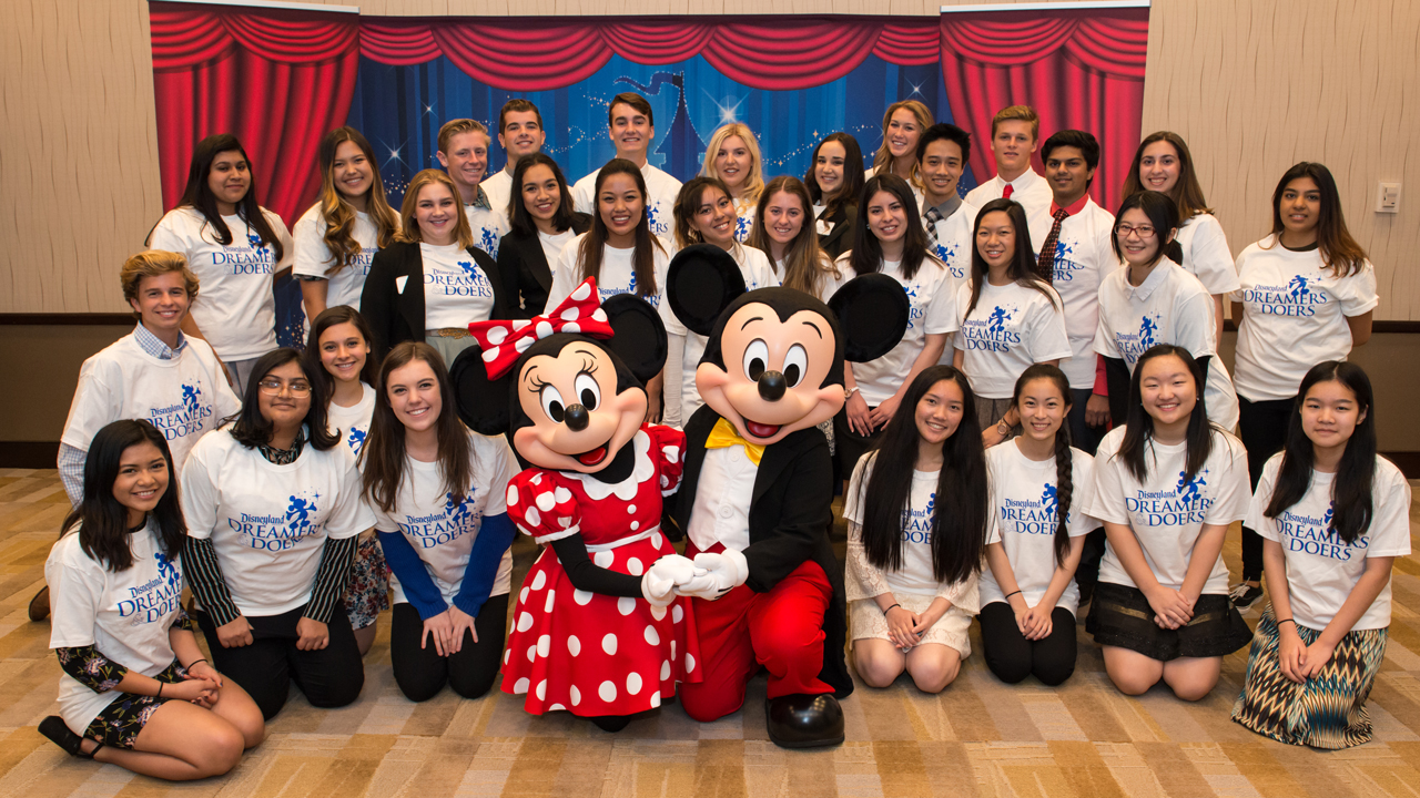 Disneyland Resort Recognizes Orange County High School Students in Second Year of Dreamers & Doers Program