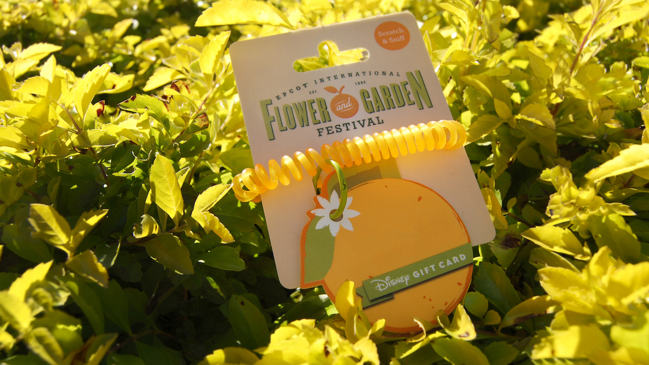 Stop and Smell the Oranges New Disney Gift Card for Epcot