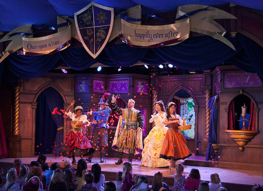 'Beauty and the Beast' at the Royal Theatre in Fantasy Faire
