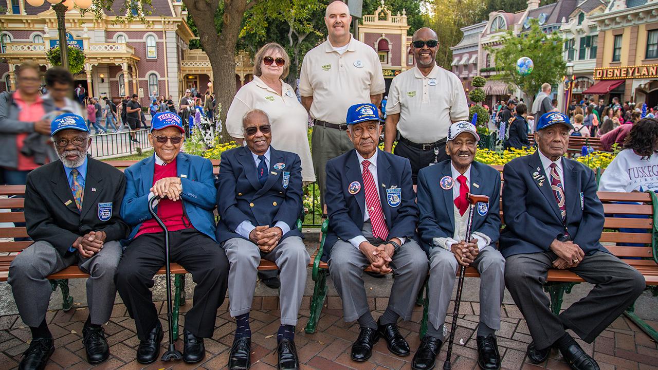 Disneyland Resort Honors Tuskegee Airmen from World War II