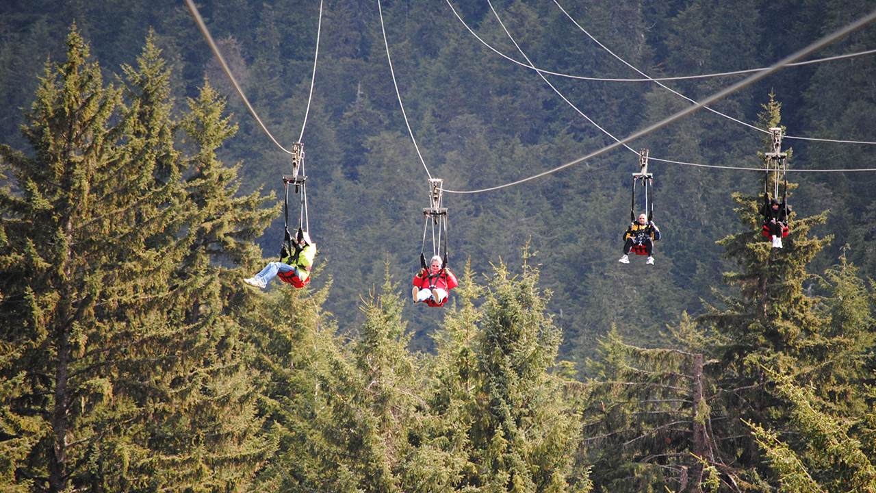 Exploring Alaska's Icy Strait Point with Disney Cruise Line: Nature Adventures