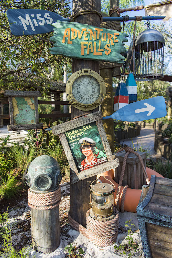 All in the Details: Treasures Abound at Miss Adventure Falls at Disney's Typhoon Lagoon Water Park