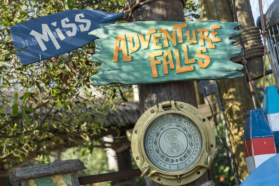 Miss Adventure Falls at Disney's Typhoon Lagoon Water Park