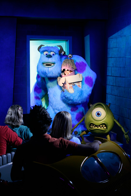 From Screen to Park: Monsters, Inc. Mike & Sulley to the Rescue! at Disney California Adventure Park