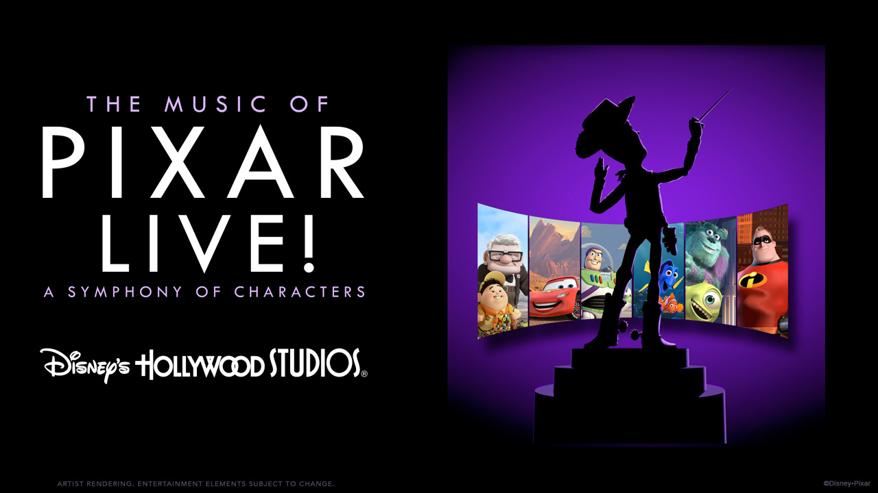 The Music of Pixar LIVE! A Symphony of Characters