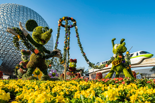 This Week in Disney Parks Photos: Epcot International Flower & Garden Festival Returns