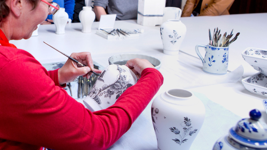 Grand Holland Tour & Delft Pottery Workshop