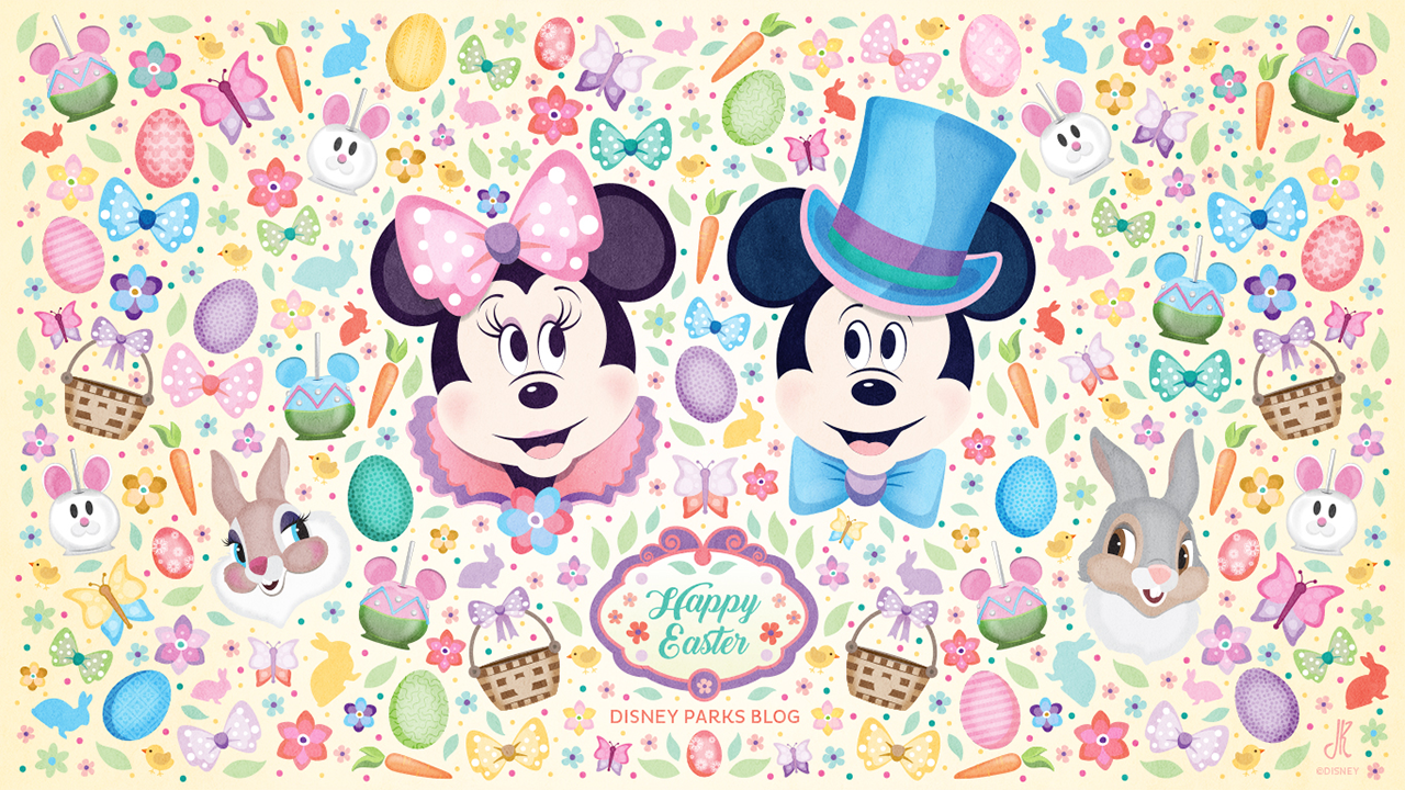 Download our Disney Parks-Inspired Easter Wallpaper ...