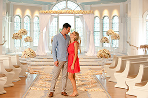 """Tune in on May 7th for a look at the magic behind happily ever after with the new special – """"Disney's Fairy Tale Weddings."""""""
