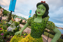 Make The Most of Memory Maker at The Epcot International Flower & Garden Festival - Topiaries
