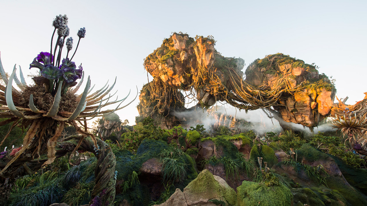 Today we're sharing what has to be my favorite behind-the-scenes look yet at the construction of Pandora - The World of Avatar. In it, members of the project team take us along as they search the globe for inspiration for the new land's look and