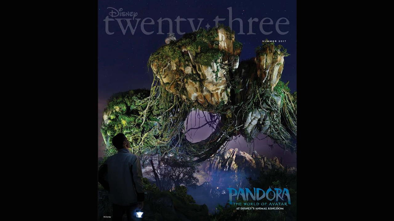 Pandora Comes to Life in New Issue of Disney Twenty-Three