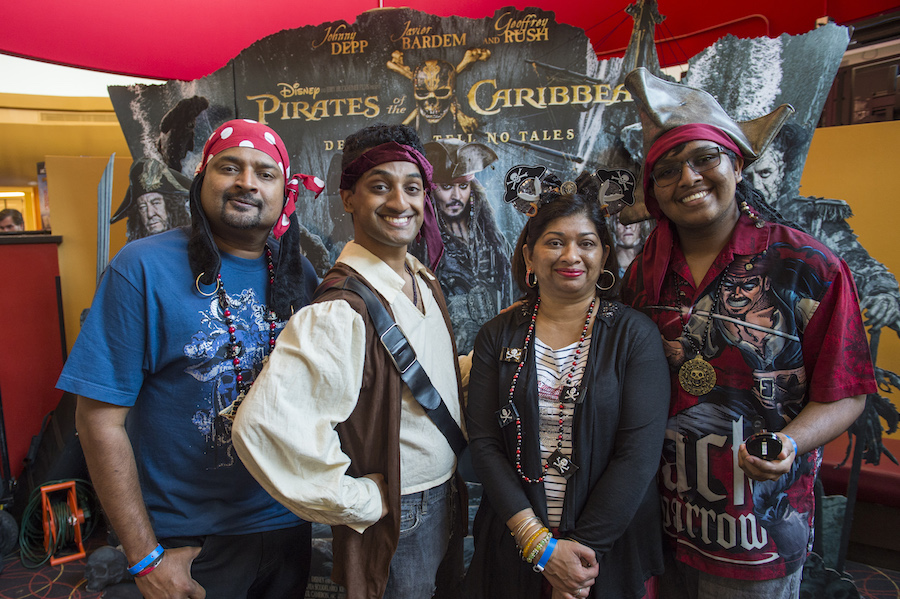 Disney Parks Blog Readers Celebrate The Opening of 'Pirates of the Caribbean: Dead Men Tell No Tales'