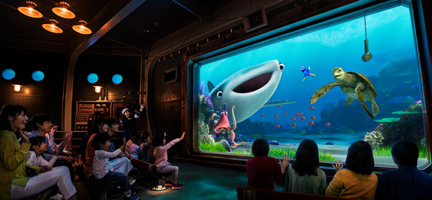 Just Keep Swimming with Nemo & Friends SeaRider, Now Open at Tokyo Disney Resort
