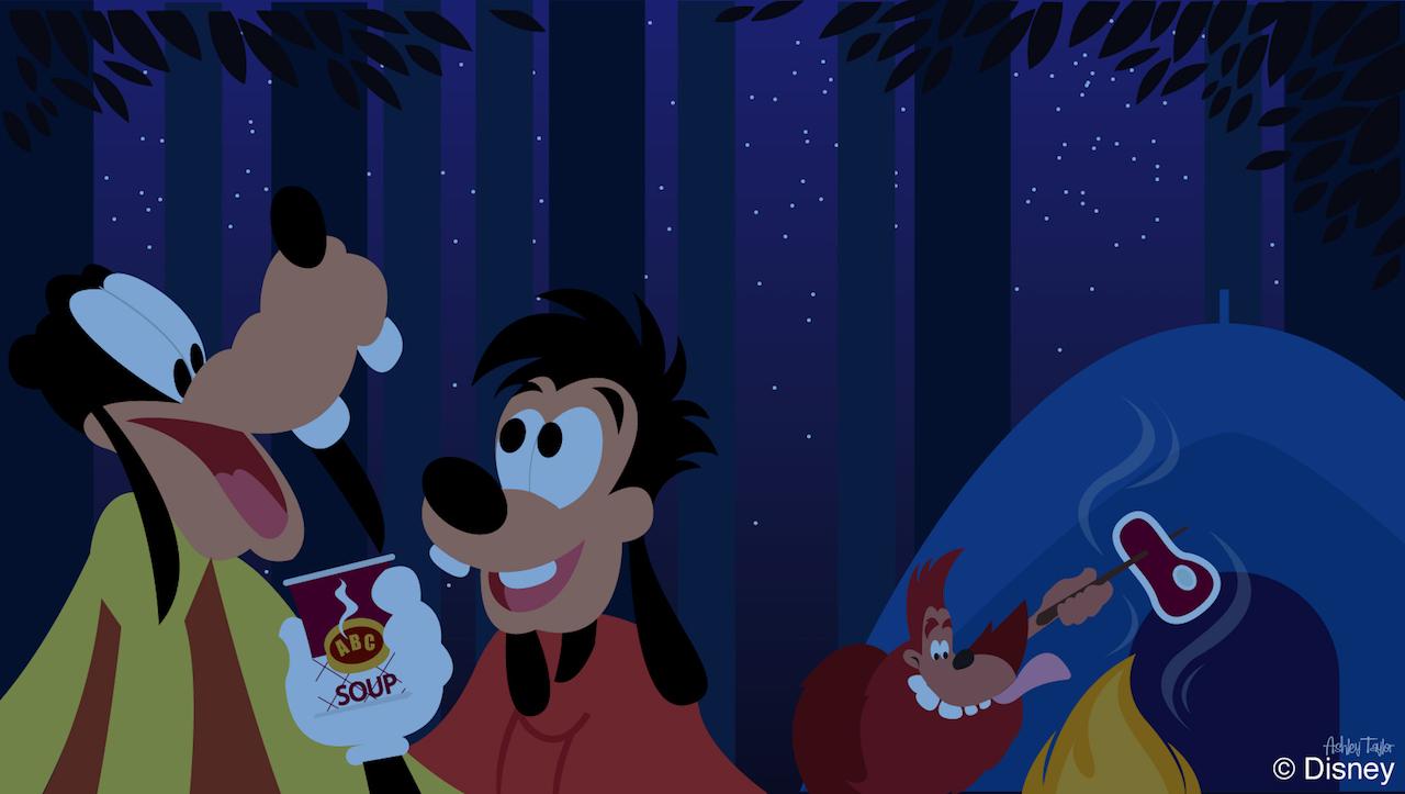 Disney Doodle Goofy Amp Max At Disney S Fort Wilderness