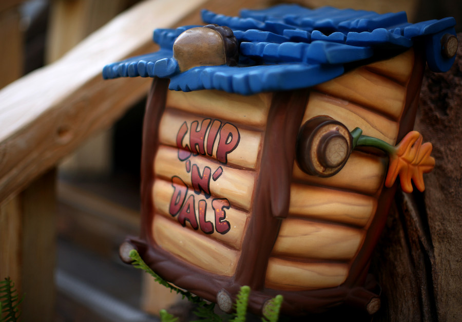 Chip 'n' Dale's Mailbox in Toontown at Disneyland Park