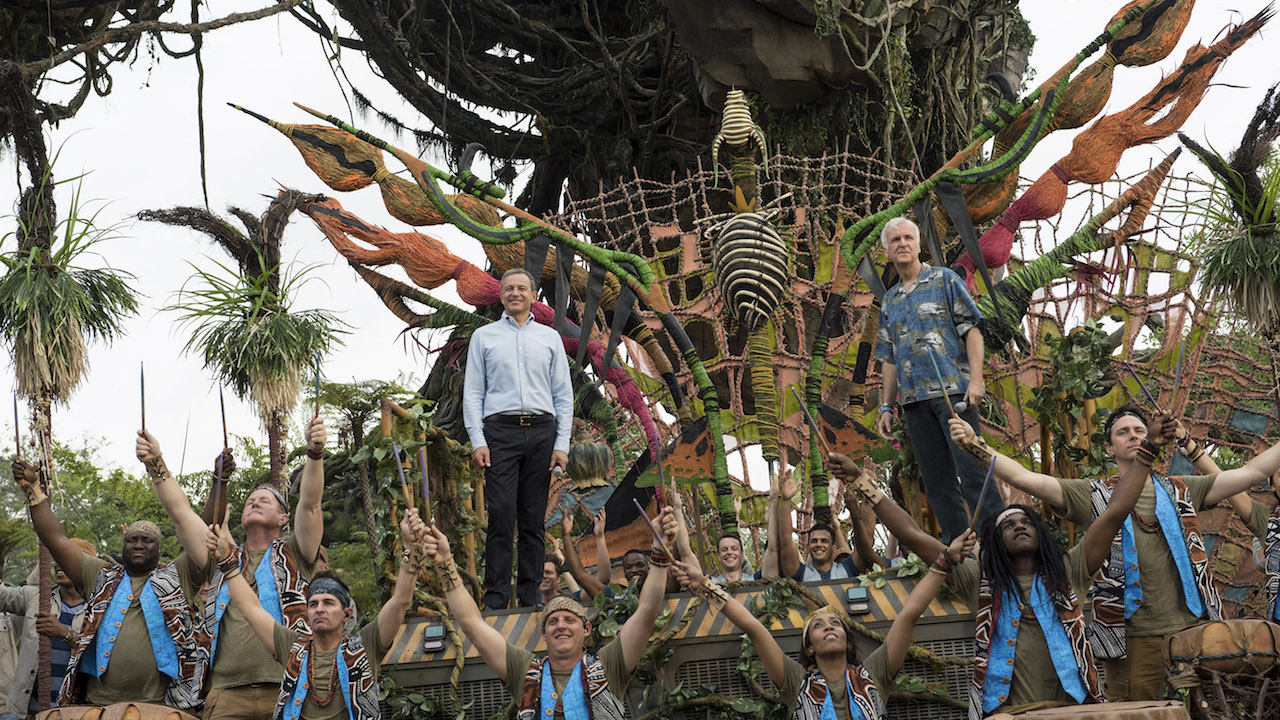 Disney Dedicates Pandora The World Of Avatar At Disneys Animal