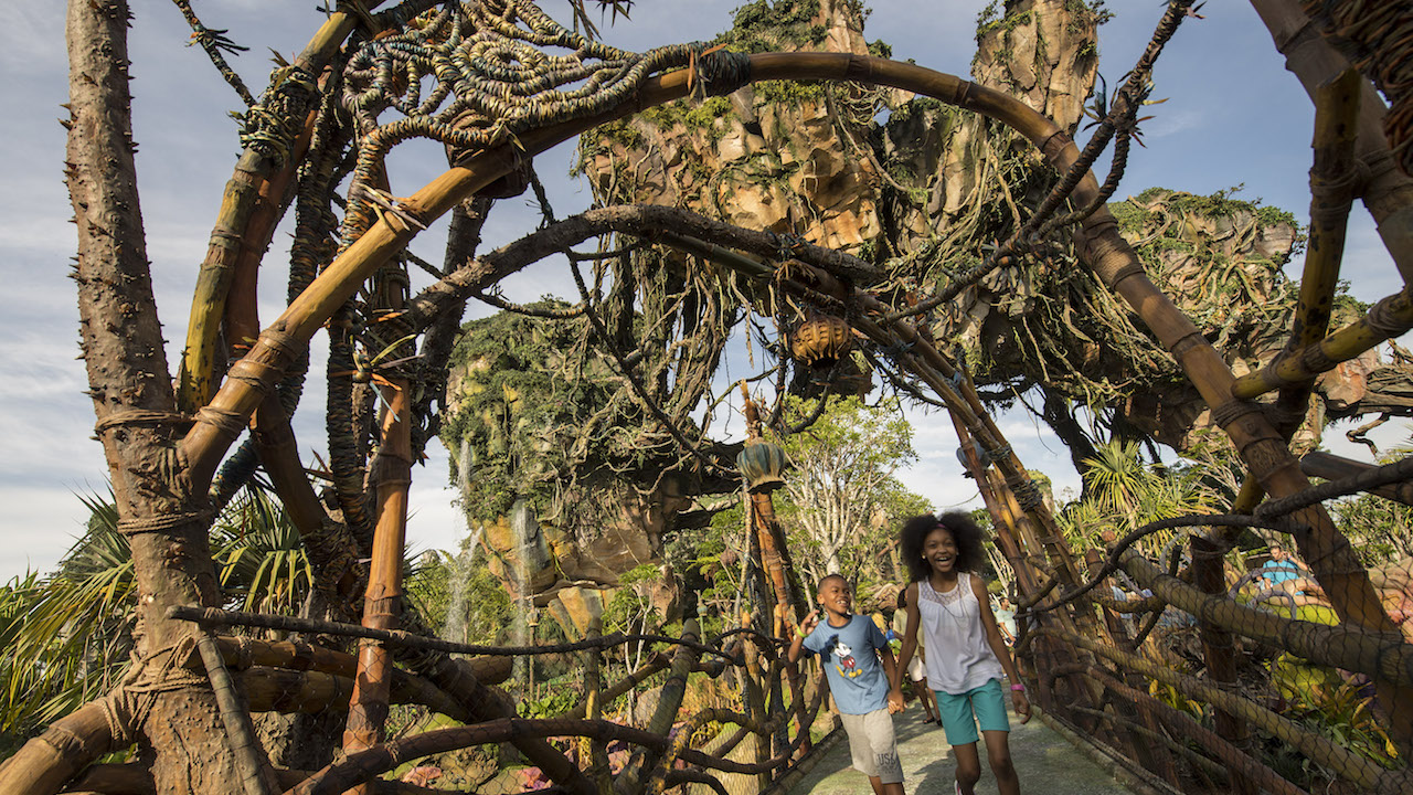 Pandora The World Of Avatar Marks A Historic Opening At Disneys