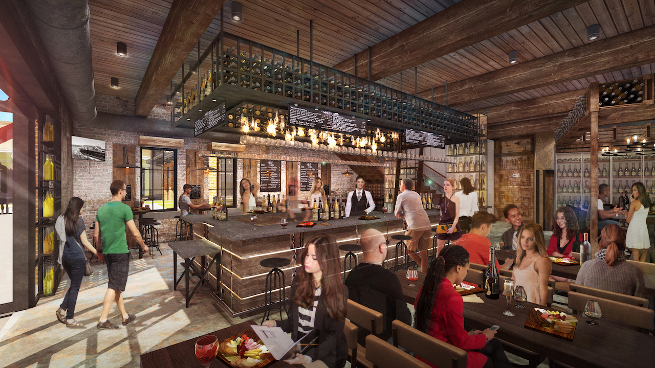 We're Celebrating National Wine Day With First Look at Interior of Wine Bar George at Disney Springs