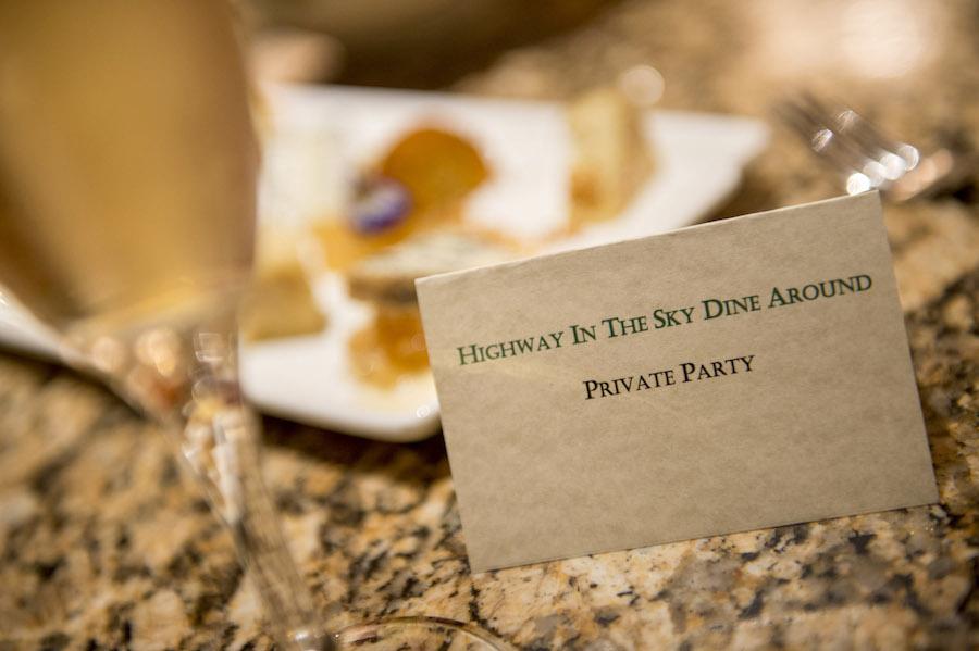 Highway in the Sky Dine Around at Walt Disney World Resort