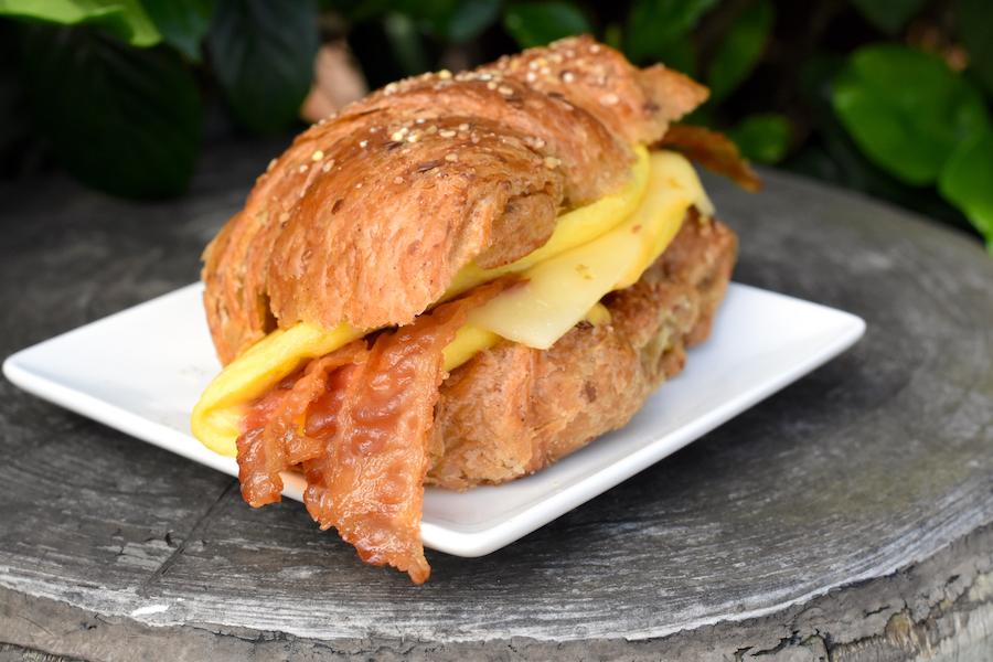 Breakfast Sandwich from Westward Ho! at Magic Kingdom Park